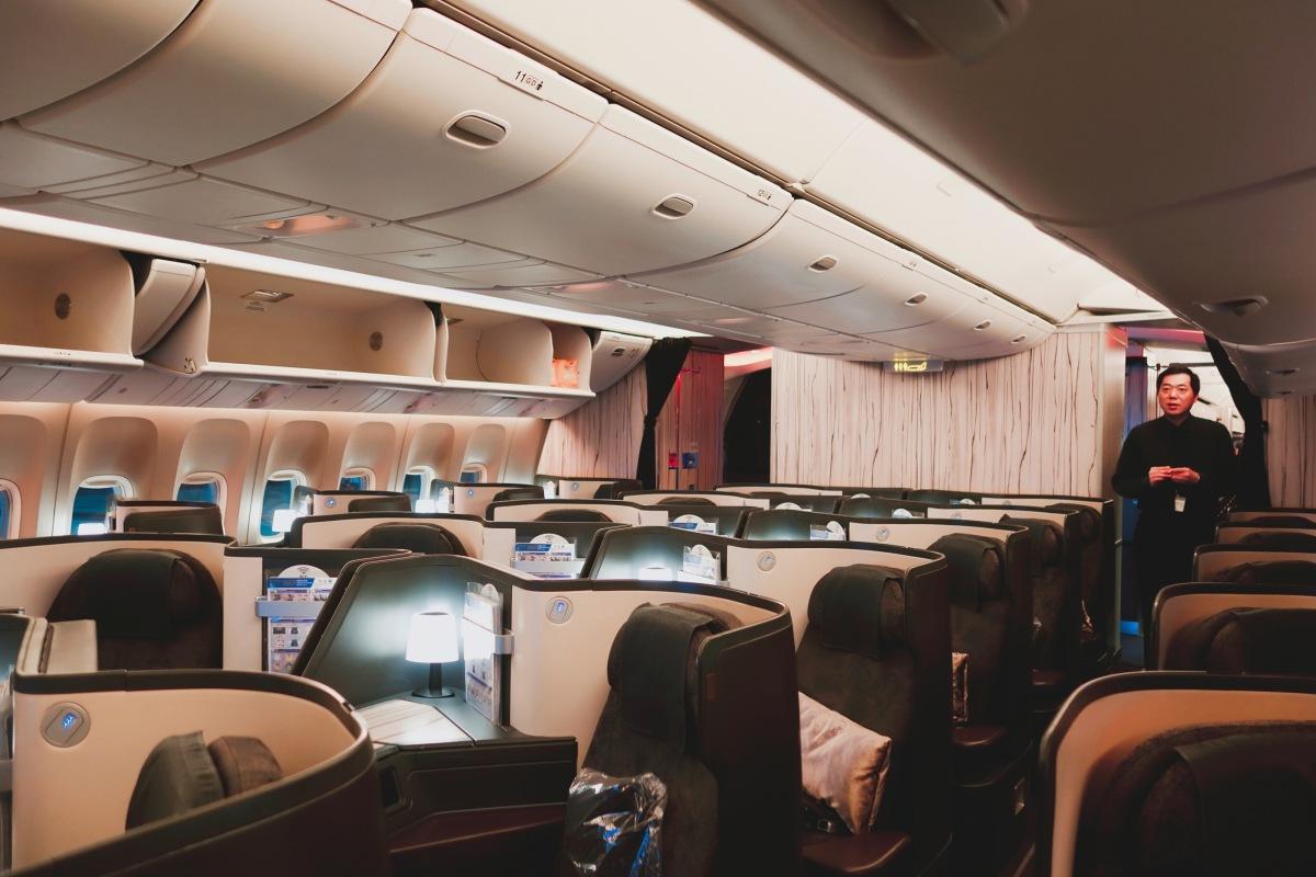 🇩🇪【德國】中華航空商務艙777-300ER 台北-法蘭克福 China Airlines CI61 TPE-FRA