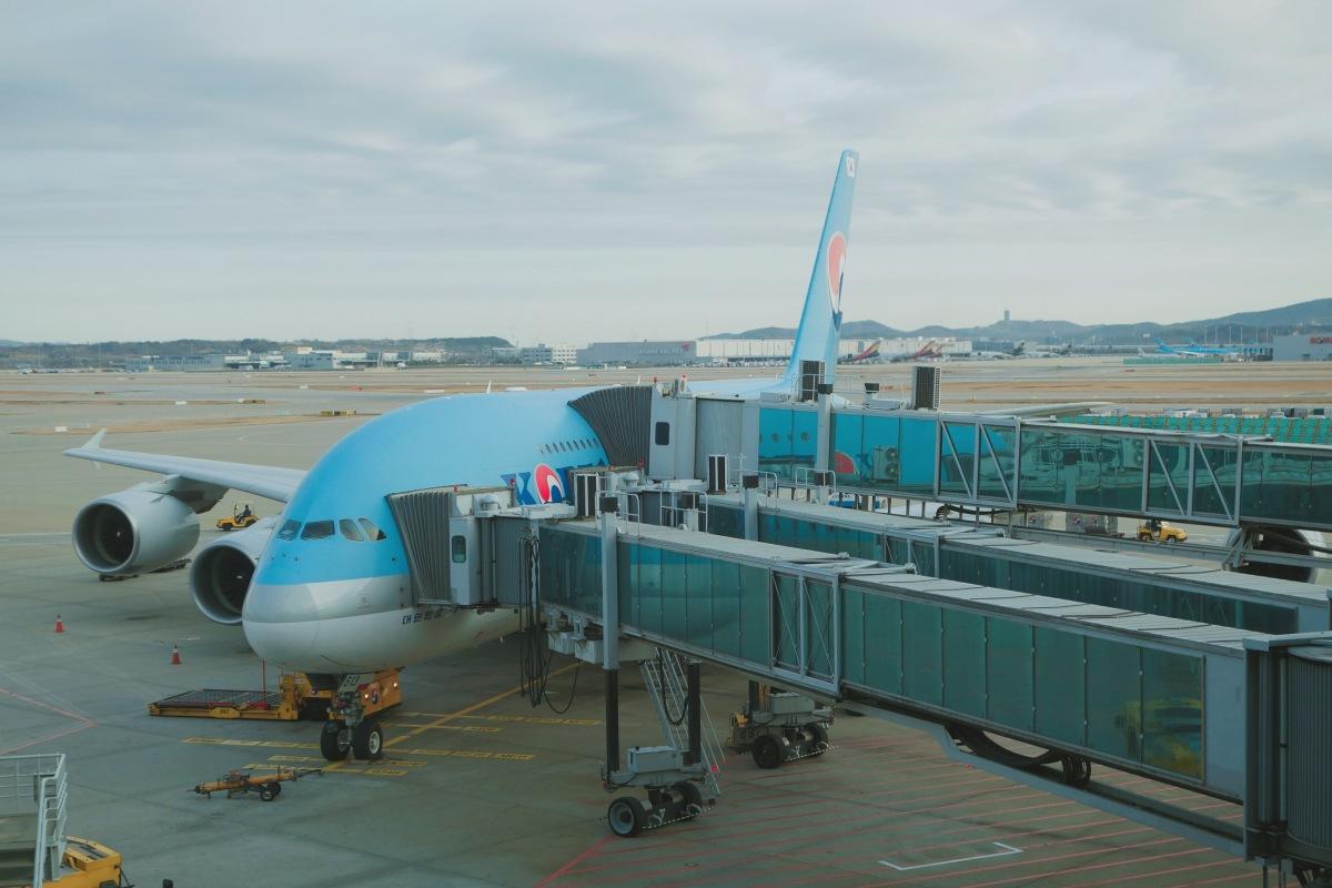 🇰🇷【首爾】大韓航空A380初體驗 仁川-台北 Korean Air KE691 ICN-TPE(內有影片)