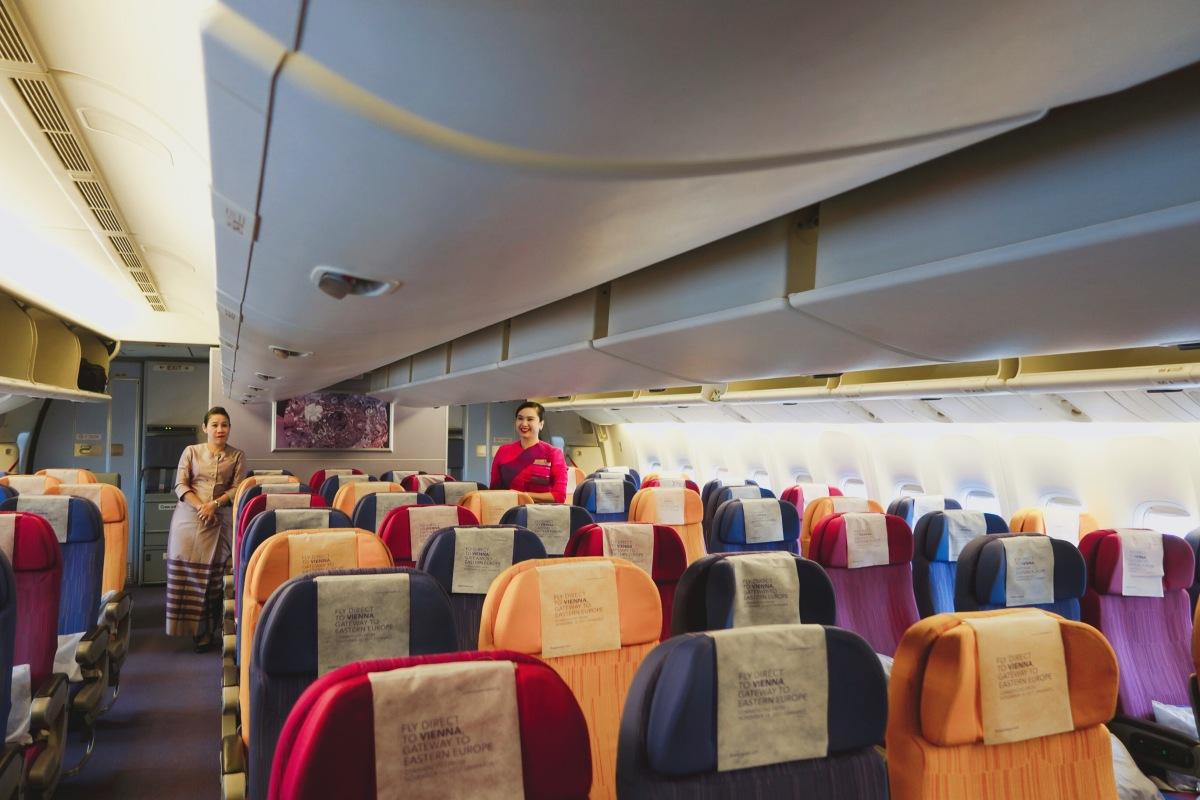 🇰🇷【首爾】泰國航空777 台北-仁川 Thai Airways TG634 TPE-ICN
