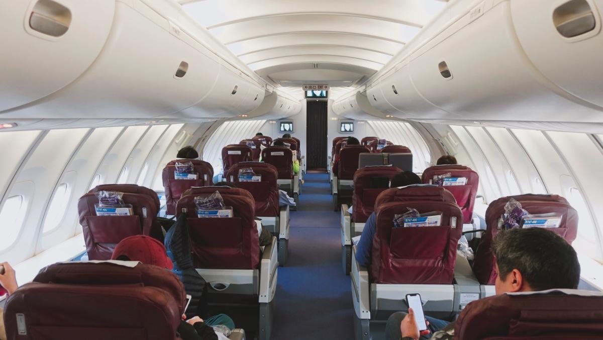 🇳🇵【尼泊爾】中華航空747-400上層艙 台北-仁川 China Airlines CI160 TPE-ICN